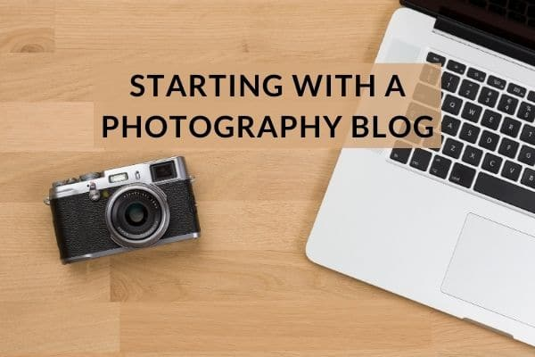 Starting with a photography blog
