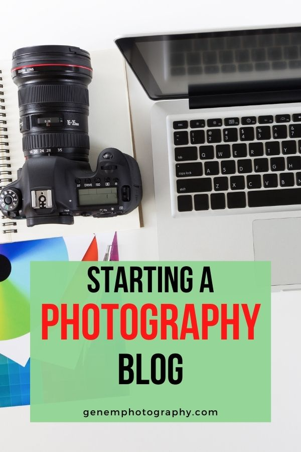 starting a photography blog