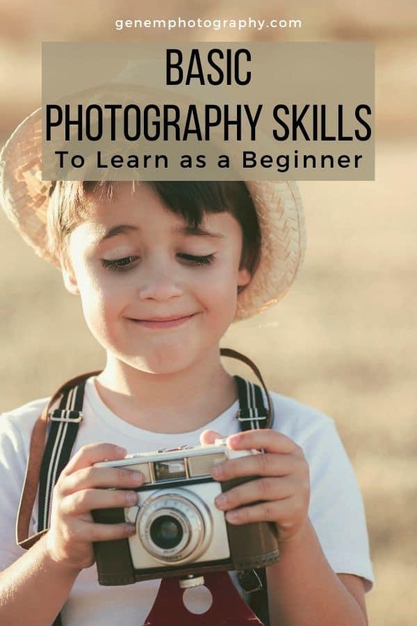 basic photography skills