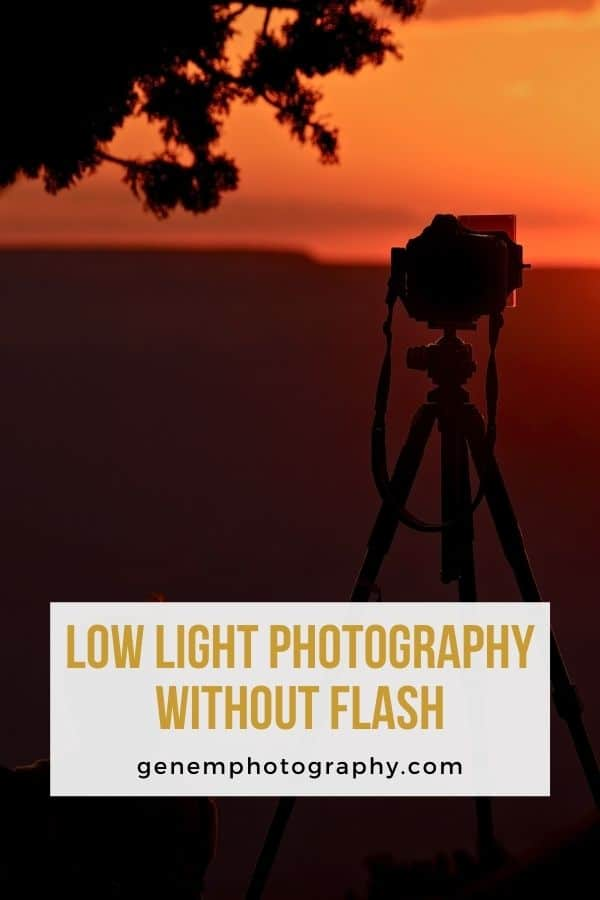 low light photography without flash
