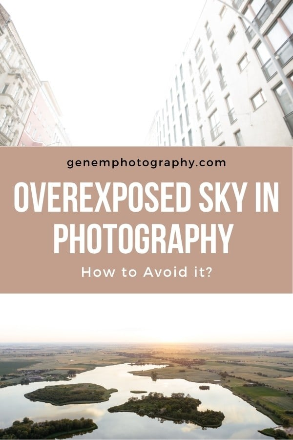 overexposed skies
