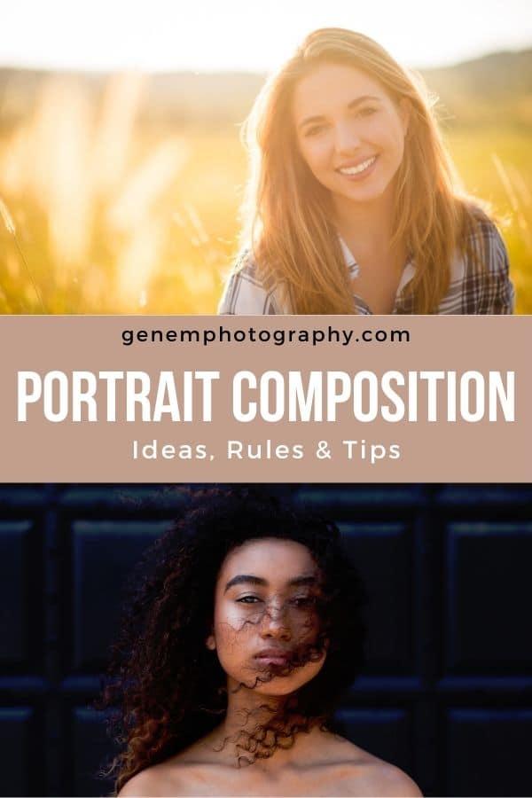 portrait composition rules