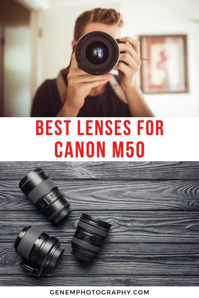 best lenses for canon m50 eos