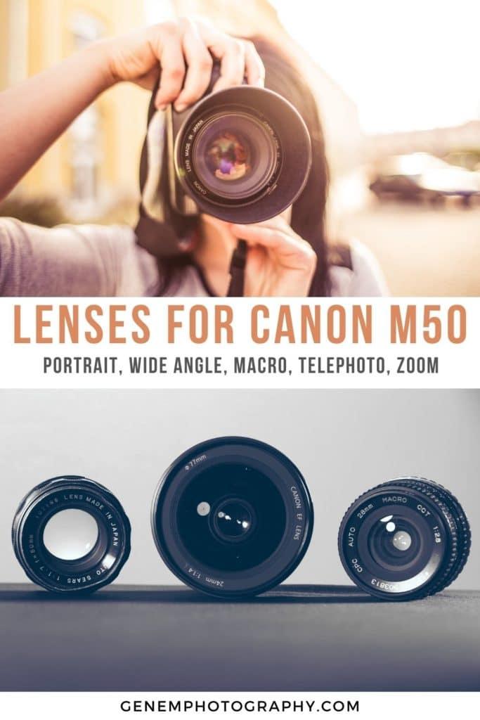 canon eos m50 lenses